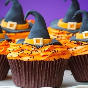 cómo hacer cupcakes de halloween