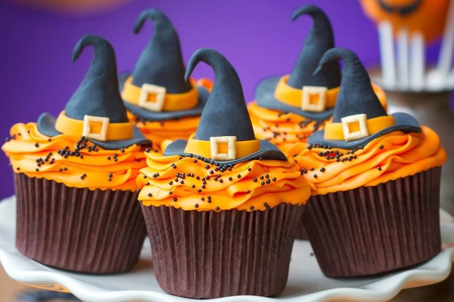 receta fácil de cupcakes de halloween